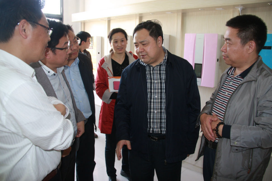 Warmly welcome Governor Xu to visit the kinghonor industrial park for guidance and work.